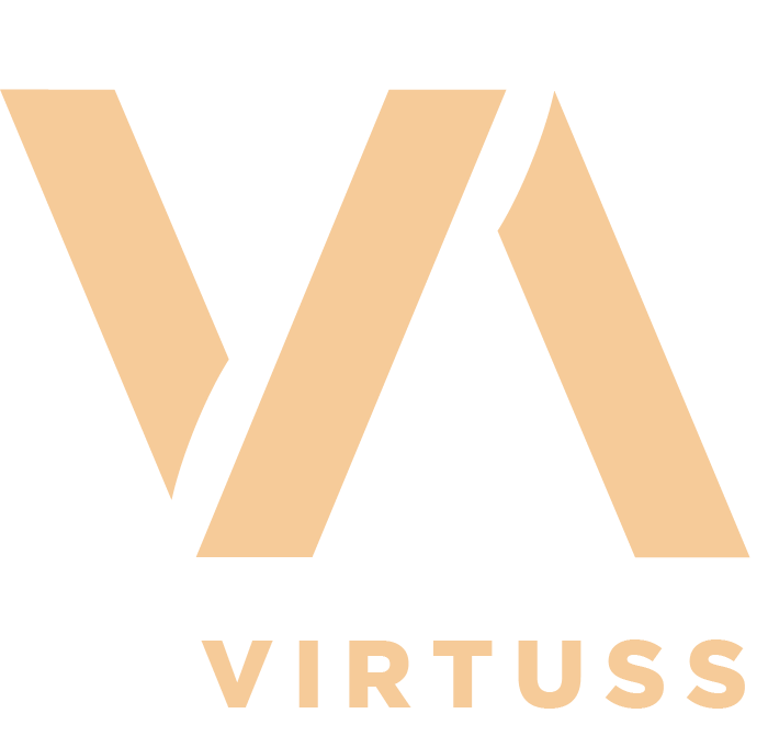 logo simple virtuss adicciones